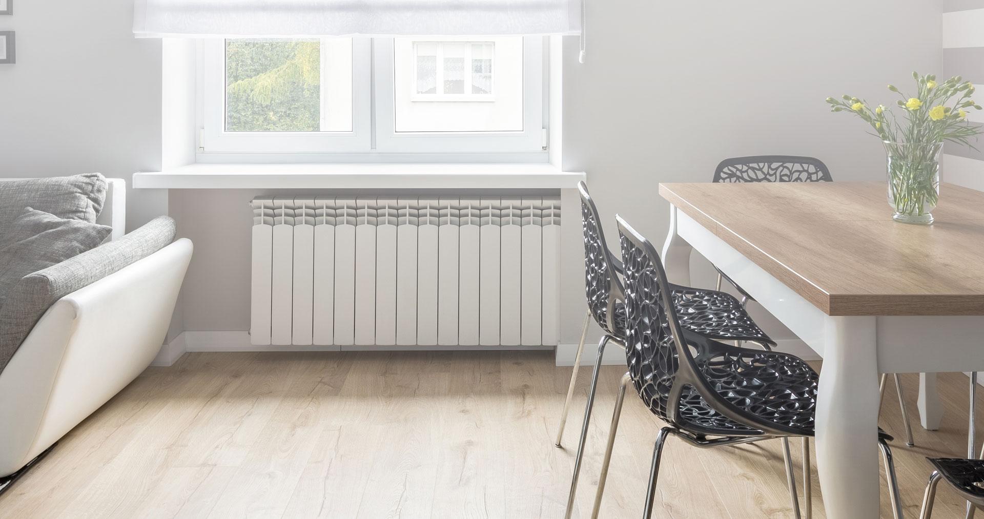chauffage pour chaque pièce de la maison